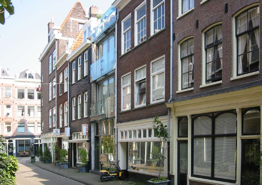 2 glass houses, amsterdam